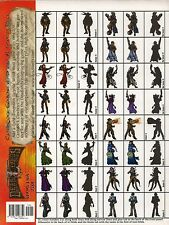 Deadlands RPG Cardstock Cowboys #1 Starter Pack MINT