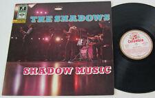 Shadows - Shadow Music - 1966 Mono LP white gold Columbia SMC 74145