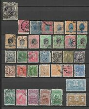 COLLECTION OF USED  ( A COUPLE UNUSED ) 1890'S ONWARDS BRAZIL STAMPS