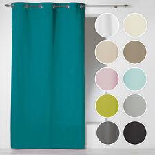 Vorhang mit Ösen Blickdicht Vorhang Schal 100%Baumwolle Verdunklungsvorhänge Öse