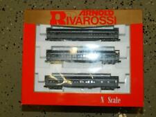 Arnold /Rivarossi #0563-N Union Pacific Passenger Car. Heavyweight 3 car set NIB