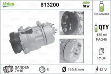 VALEO Kompressor Klimaanlage NEW ORIGINAL PART 813200 für VW AUDI GOLF A3 SKODA