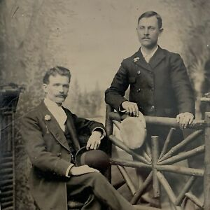Antique 1/4 Plate Tintype Photograph Very Handsome Young Man Men Gay Int