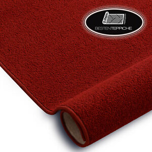 Langlebig Modernen Teppichboden ETON rot große Größen! Teppiche nach Maß