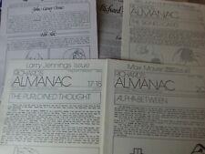 25 Issues Richards Almanac Jennings Maven Gallo
