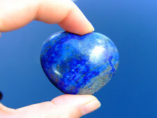 Lapis Lazuli Carved Heart Natural Gemstone Crystal Reiki Chakra Healing Stone
