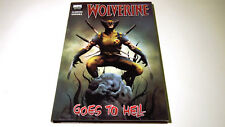 Wolverine Goes to Hell Marvel Premiere Hardcover HC | Jason Aaron Marvel | NEW