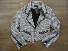 NEW ELLIATT BLACK & WHITE DRESS JACKET!!  RRP $140    MED SIZE 10