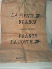 Ancien sac courrier LA POSTE  reformé PTT belle déco année 80