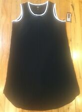 NWT Women's ABS Allen Schwartz Jet Black Dress Size Medium M $88
