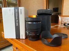 Sigma Art 24-105mm F4 DG Obiettivo per Canon EF Mount con custodia e scatola