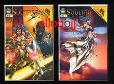 SOULFIRE*  Michael Turner Comic Cover Book 1A & 1B septembre 2004 1ère édition