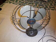 Vintage Victor desk fan model FT-1205 works 3-speed