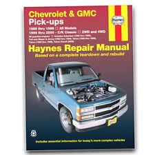 Haynes Repair Manual for 1988-1998 Chevrolet C1500 - Shop Service Garage hi