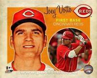 "Joey Votto Cincinnati Reds MLB Retro Composite Photo (Size: 8"" x 10"")"