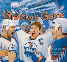 Gretzky's Game (Hockey Heroes Series)-ExLibrary
