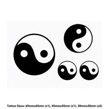 'Yin Yang Symbol' Temporary Tattoos (TO019258)