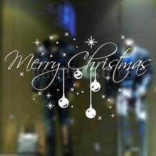 Christmas Snowflake Removable Wall Stickers Decal Home Shop Window Decoration