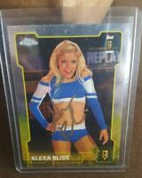 2015 WWE Topps Chrome Alexa Bliss Signed RC NXT Auto with COA HOT!!