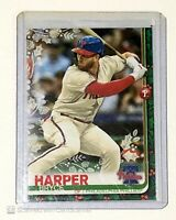 2019 Topps Holiday Bryce Harper #HW192 SSP Ornament Photo Variation (065)