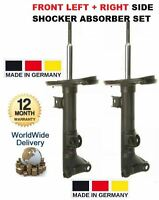 FOR MERCEDES CLK CLASS 2002-2010 NEW FRONT LEFT + RIGHT SHOCK ABSORBER SET