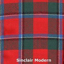 Scarf Clan Sinclair Modern Tartan Scottish Wool Plaid