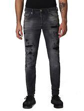 Diesel Tepphar 084NH Herren Jeans Hose Slim Carrot