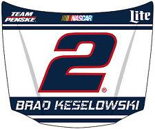 NASCAR #2 Brad Keselowski Hood Shaped Magnet-NASCAR Magnet-NEW for 2016!