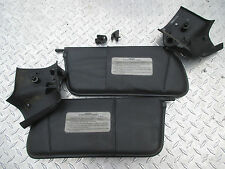 1987-1995 Chrysler Lebaron Convertible Sun Visors Black Both sides LH RH OEM