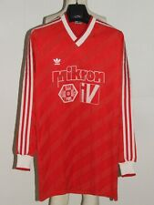 Soccer Jersey Shirt Maillot Vintage adidas Made IN West Germany (068) Size 7/8