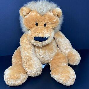 "Animal Alley Lion Plush Brown Orange 23"" Floppy Stuffed Toys R Us Shaggy Tiger"