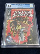 The Silver Surfer #3 Graded 4.0 by CGC ✨ 1st App of Mephisto✨ Marvel Comic Group