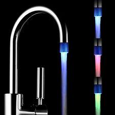 Fantastischer LED heller Wasser Hahn 7 Farben die Glühen Dusche Strom Hahn Pop