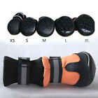 4Pcs Pet Dogs Boots Waterproof Anti-Slip Rain Shoes Puppy Paw Protective Booties