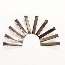 50pcs PRONG ALLIGATOR ALIGATOR*CLIPS HAIR BOWS METAL HAIR Clip accessories SD