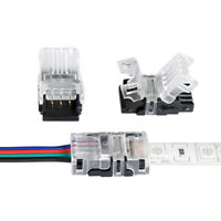 5x 2835 3528 LED Connector DIY Strip to Wire Quick Connection 2-5 Pin 12V 24V 4