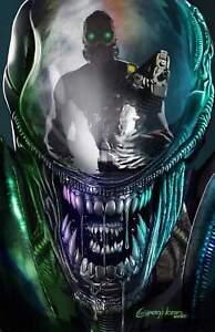 Alien #1 Greg Horn Reflection Virgin Variant (03/24/2021)