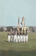 The Cadet Color Guard West Point U.S. Military Academy  New York   #D27