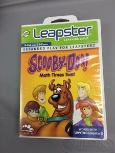 LeapFrog Leapster 1 & 2 Scooby Doo Math Mal Zwei Alter 5-8