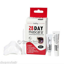 Godefroy 28 Day Mascara Permanent Eyelash & Brows BLACK Tint Kit 701 - 25 Apps