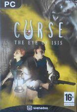 Jeu PC CURSE The eye of Isis  Neuf