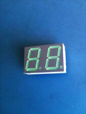 HDSP-5623 HEWLETT PACKARD LED 7-SEG 14.2MM 2DIG CC GREEN RHD DIP