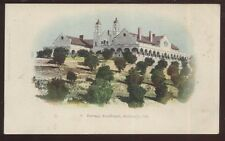 Postcard REDLANDS California/CA  Burrage Mansion House/Home view 1901