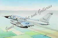 C-21A Learjet Transport Giclee /& Iris Open Edition Art Prints by Willie Jones Jr