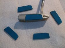 for Scotty Cameron Newport Select Putters, Custom Blue Anodized Face Plate Kit