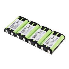 4 PCS HHR-P104 3.6V 900mAh Home Phone Battery For Panasonic HHRP104 Kit