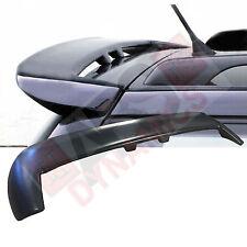 1999 04 VolksWagon Golf 4 Variant Style Roof Spoiler Black Unpainted ABS Plastic