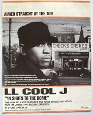 LL COOL J 1993 promo ADVERT 14 SHOTS TO THE DOME