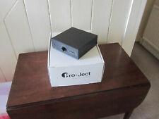 Pro-ject Phono Box Rs Mm Mc Black Boxed Ex Demo No Manual