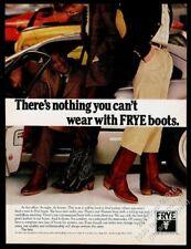 1979 Ferrari 308 Gtb & other Ferrari photo Frye cowboy boots vintage print ad
